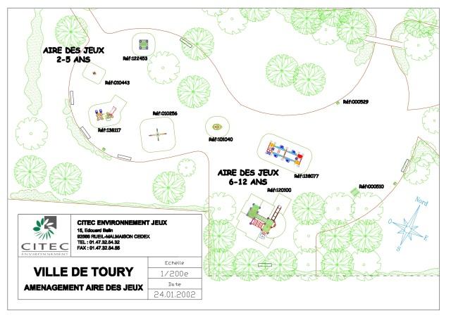 Playground area study