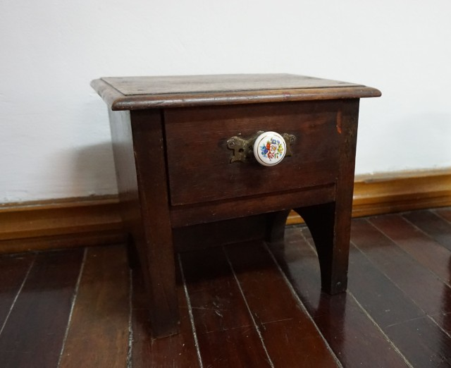SMALL TEAK DRAWER